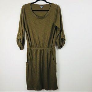 Lila P 3/4 Sleeve pocket dress